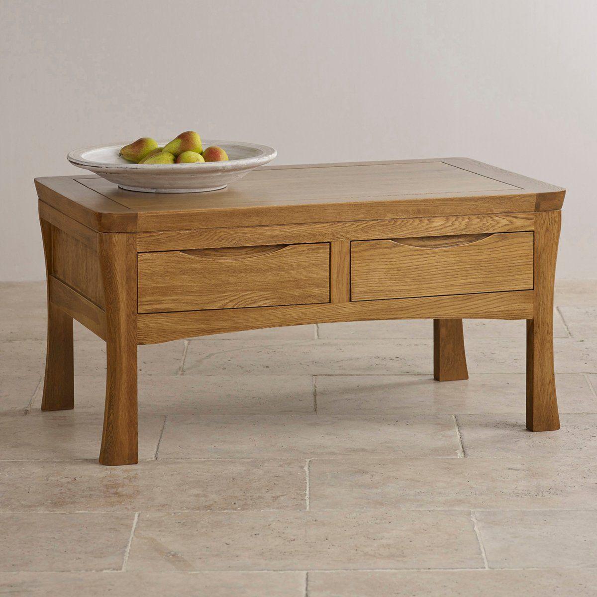 Orrick 4 Drawer Coffee Table In Rustic Oak Oak Furniture Land Stoliki Zhurnalnyj Stolik Belaya Mebel [ 1200 x 1200 Pixel ]