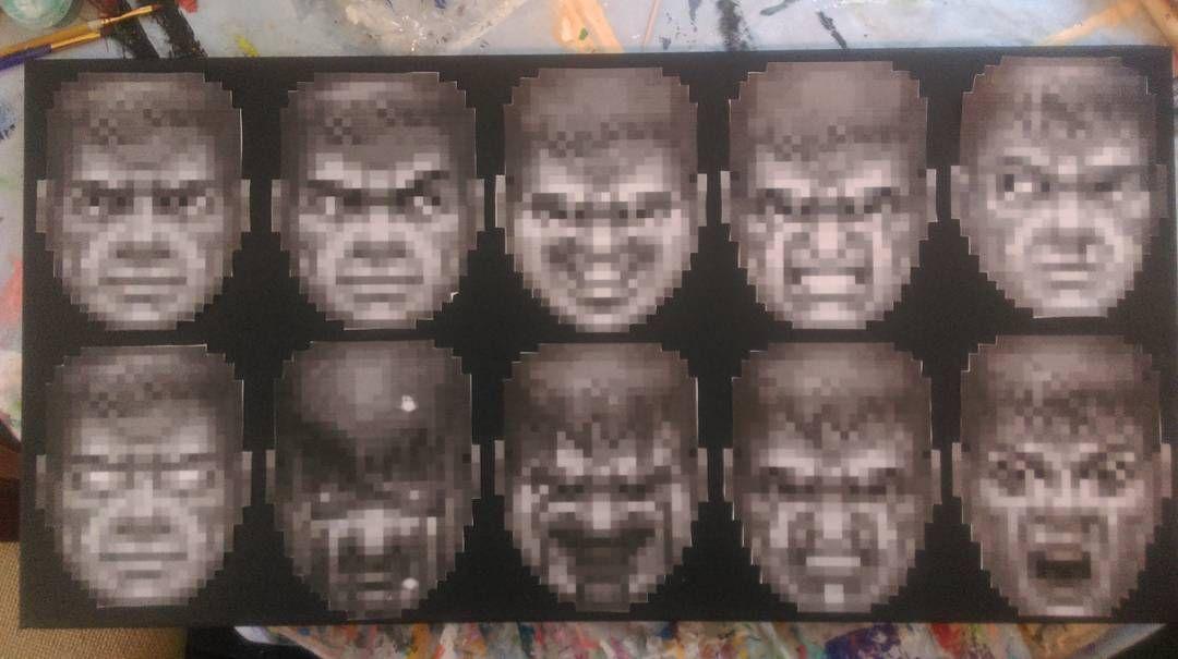 32+ Doom faces information
