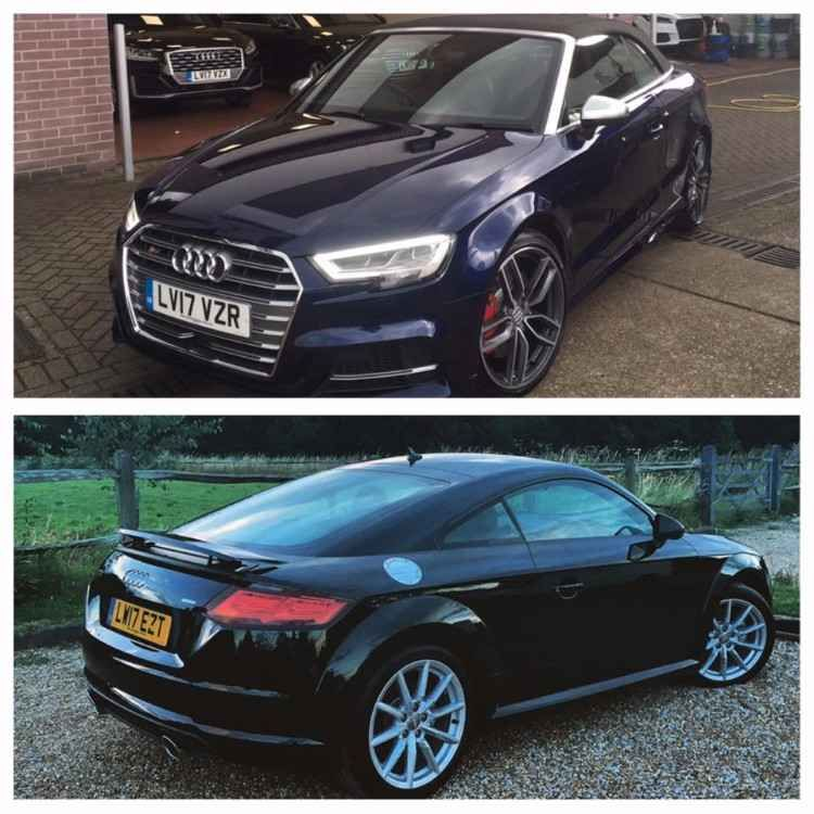 Please share! 2 Cars stolen last night 24/09/2017 from Biggin Hill