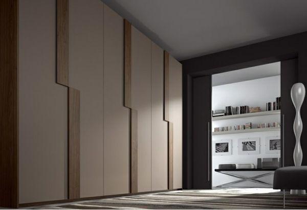 L\'armoire dressing dans la chambre à coucher moderne | Dressing ...