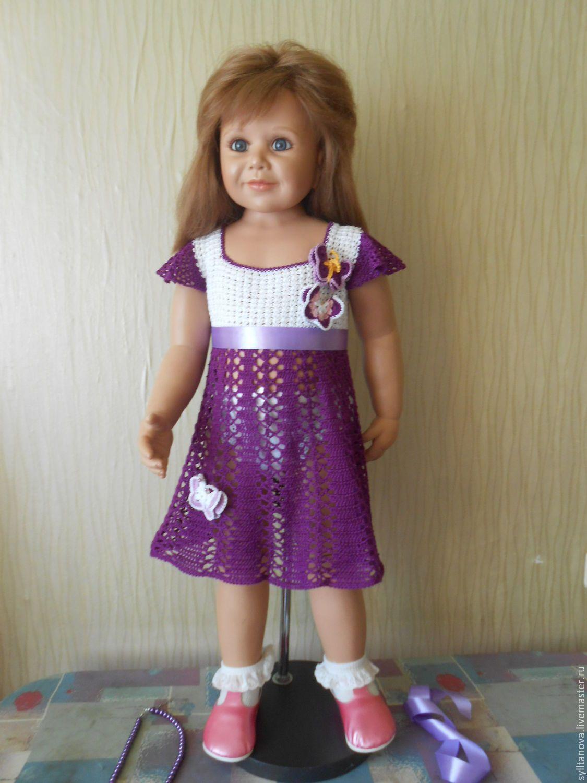 купить детское платье ручной работы