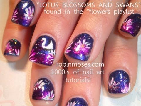 Miss Professional Nail Spring Polish Launch 2012 with robin moses: nails art design tutorial 609