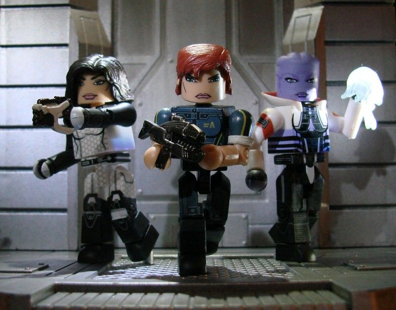 Mass Effect Minimates Series 1 Box Set