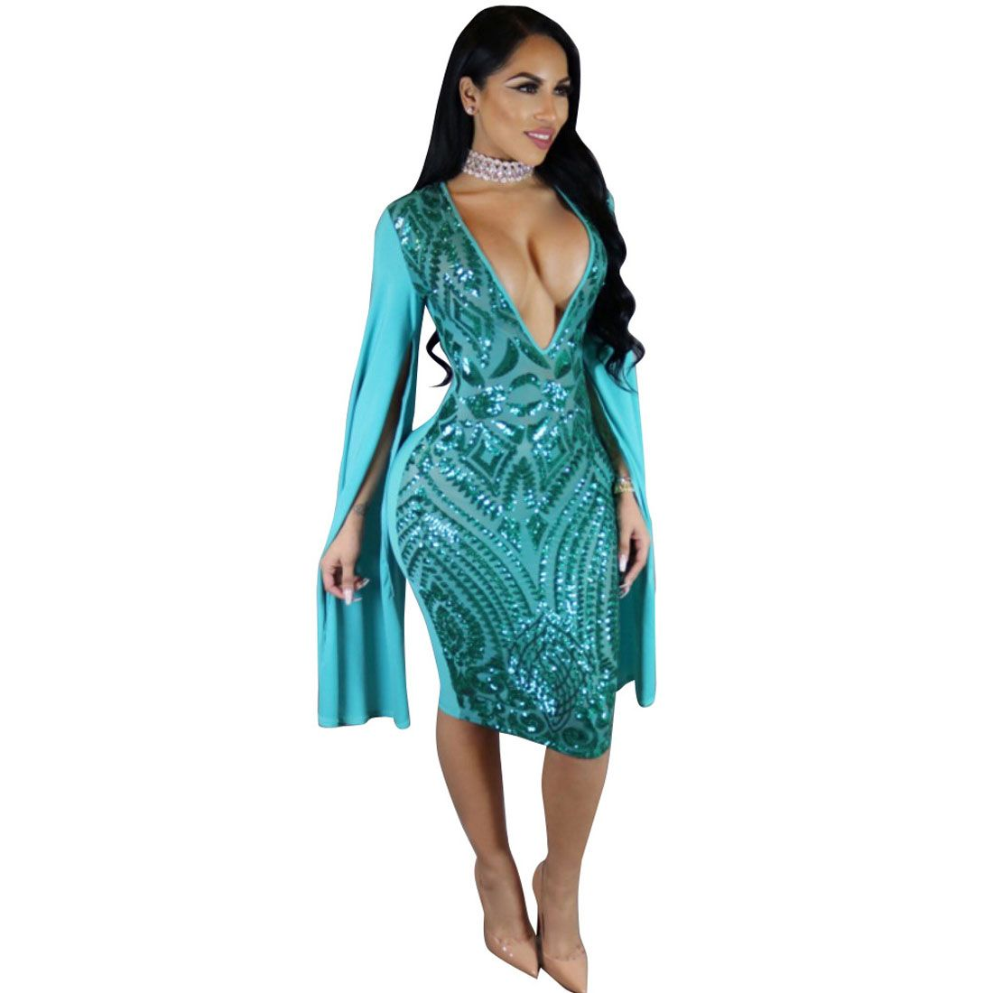 Contemporary Party Dresses Sleeves Vignette - All Wedding Dresses ...