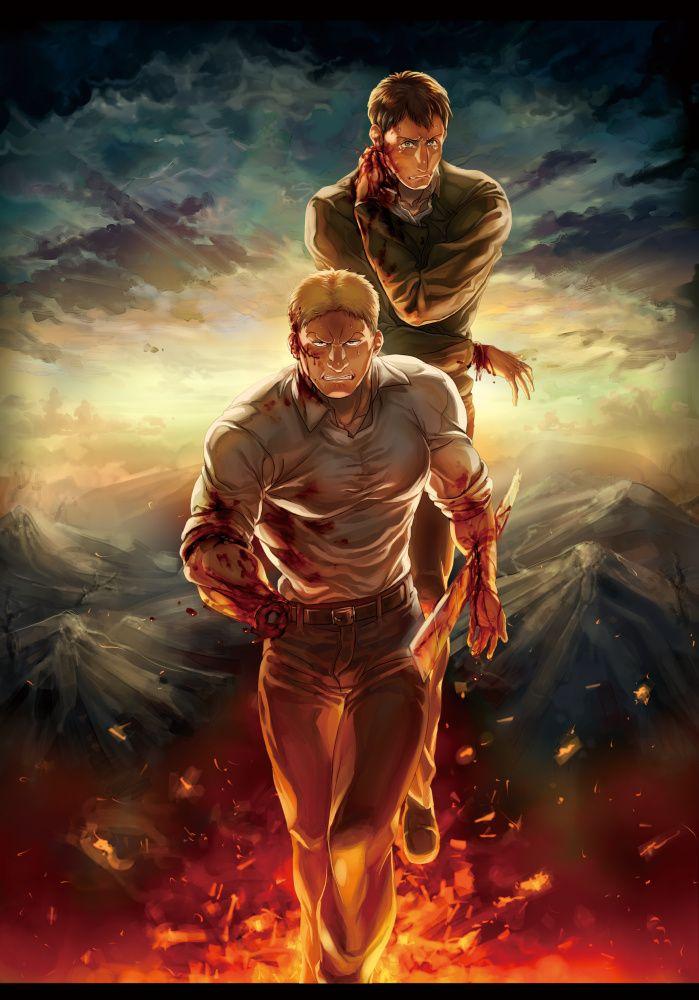 Reiner And Bertolt Attack On Titan Https Www Pixiv Net Member Illust Php Mode Medium Illust Id 62884362 Anime Ataque Dos Titas Animes Wallpapers