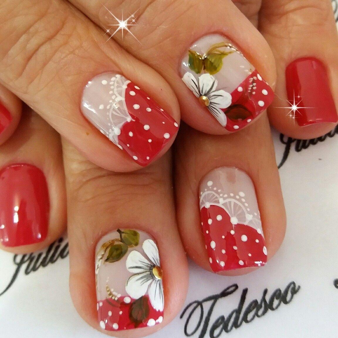 Pin by Juliana Tedesco on unhas de artes | Pinterest | Pedicure nail ...