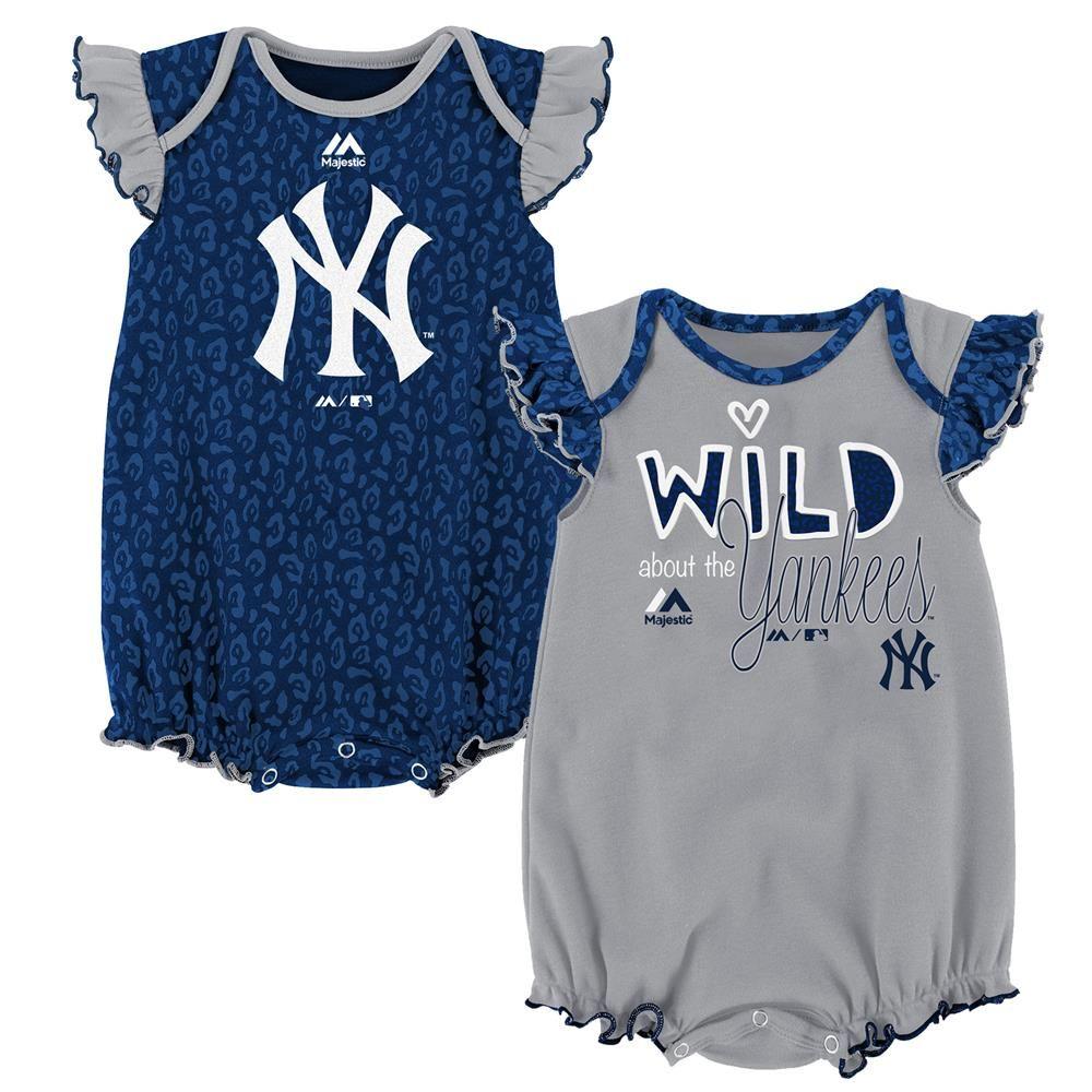 Toronto Blue Jays Newborn Double Header Bodysuit and Short Set