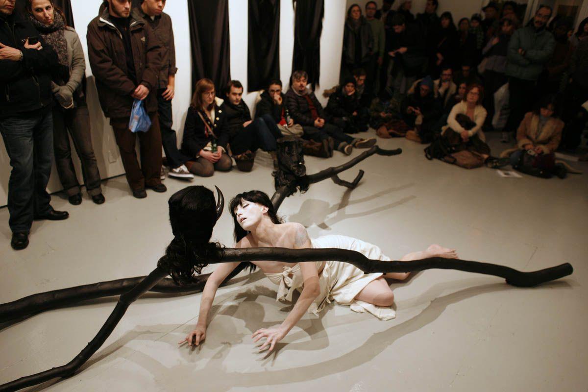 Butoh Dance by Pamela Herron at Momenta Art