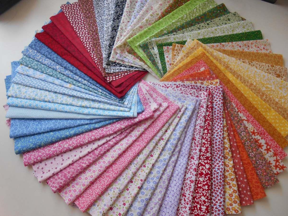 Curso De Artesanato Manaus ~ Super Kit Tecidos Patchwork Retalho Tricoline Estampado K60f R$ 95,00 no MercadoLivre