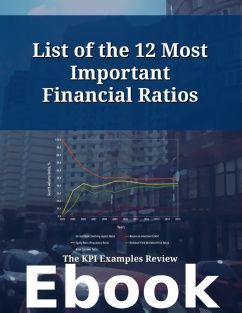 Ratios pdf financial