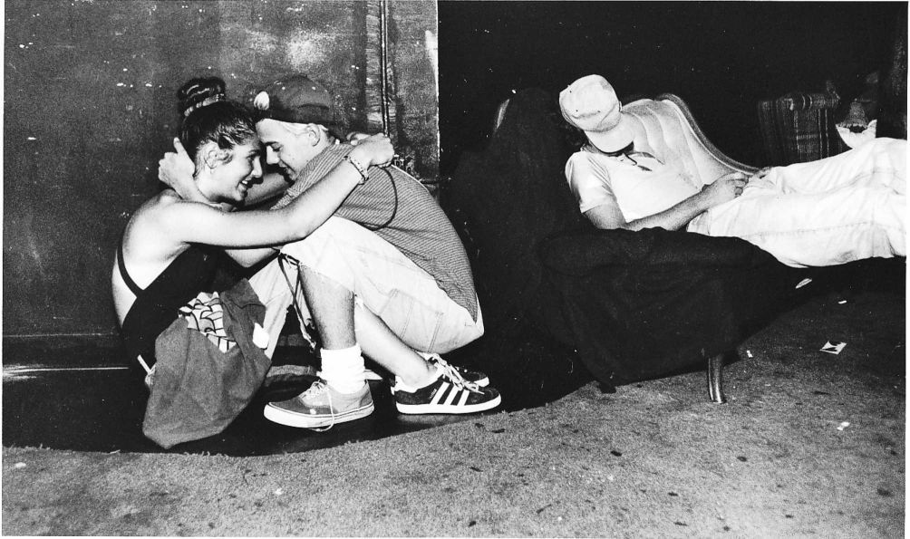 While Liberty Left And Popi Cuddle Diego Snoozes On The Couch Around 5 A M At Shelter Club On Hudson Street In Manhattan Aug Rare Images Night Club Image
