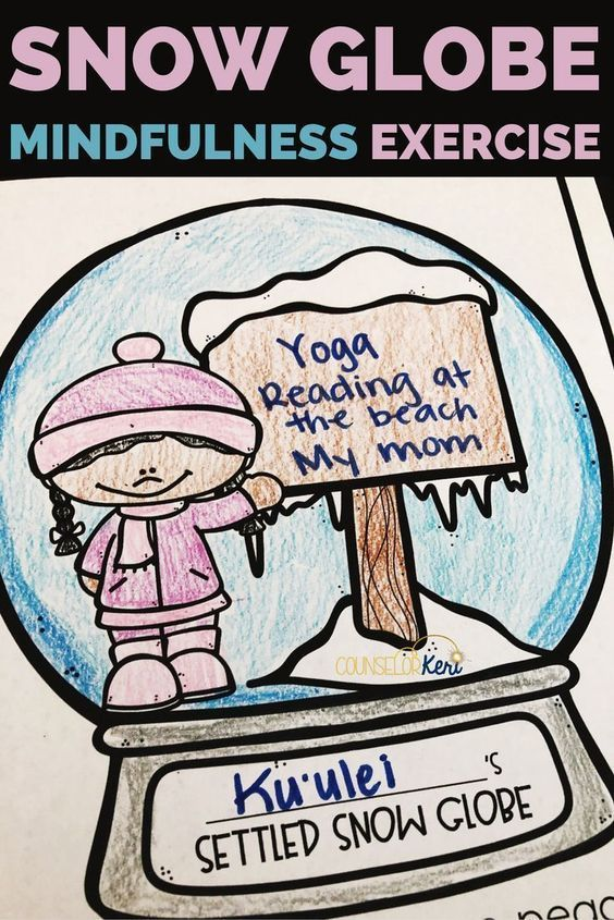 Winter Mindfulness Activities for Kids | Mindfulness ...
