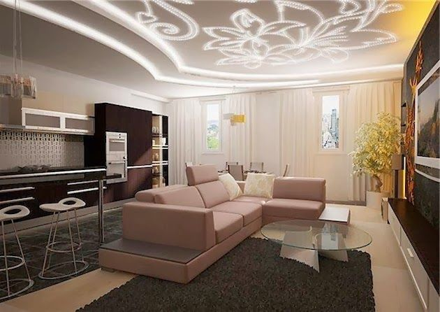 Modern False Ceiling Designs With Creative Lighting Ideas