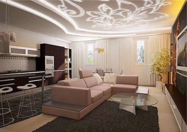 modern false ceiling designs with creative lighting ideas
