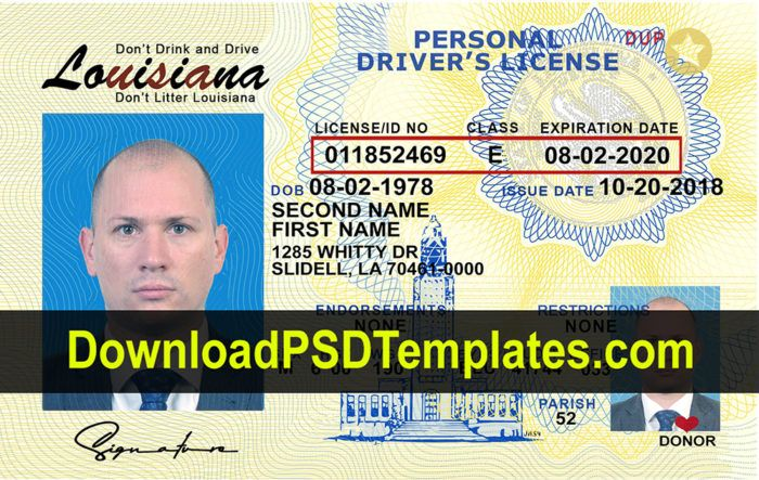 Louisiana Drivers License Requirements