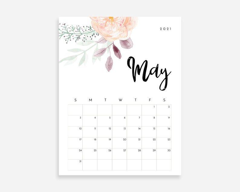 PRINTABLE Calendar 2020 2021 , Calendar 2020 2021 Printable