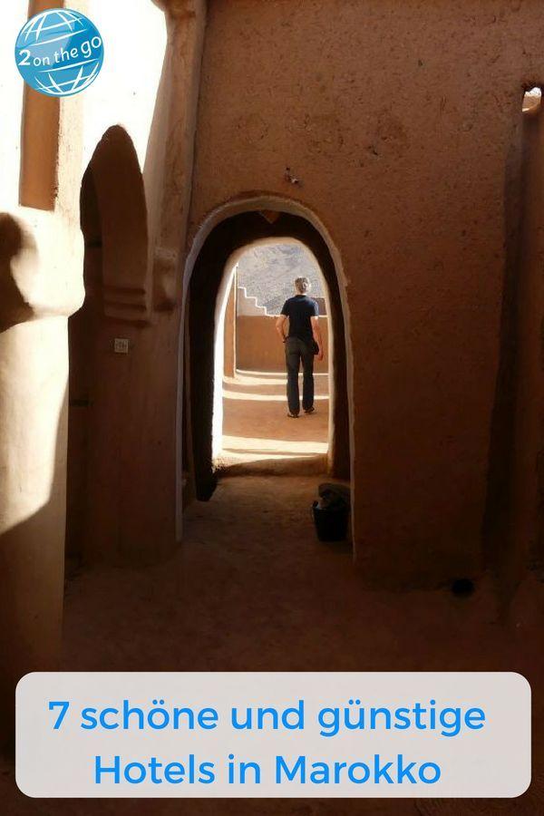 7 schöne und preiswerte Hotels in Marokko Marokko