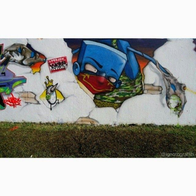 #Ignoto #ignotograffiti #azulao #mutaçao #cwb #sampagraffiti #instangrafite #graffitibrasil #grafitesp #murals #walls #wallsart #urbanart
