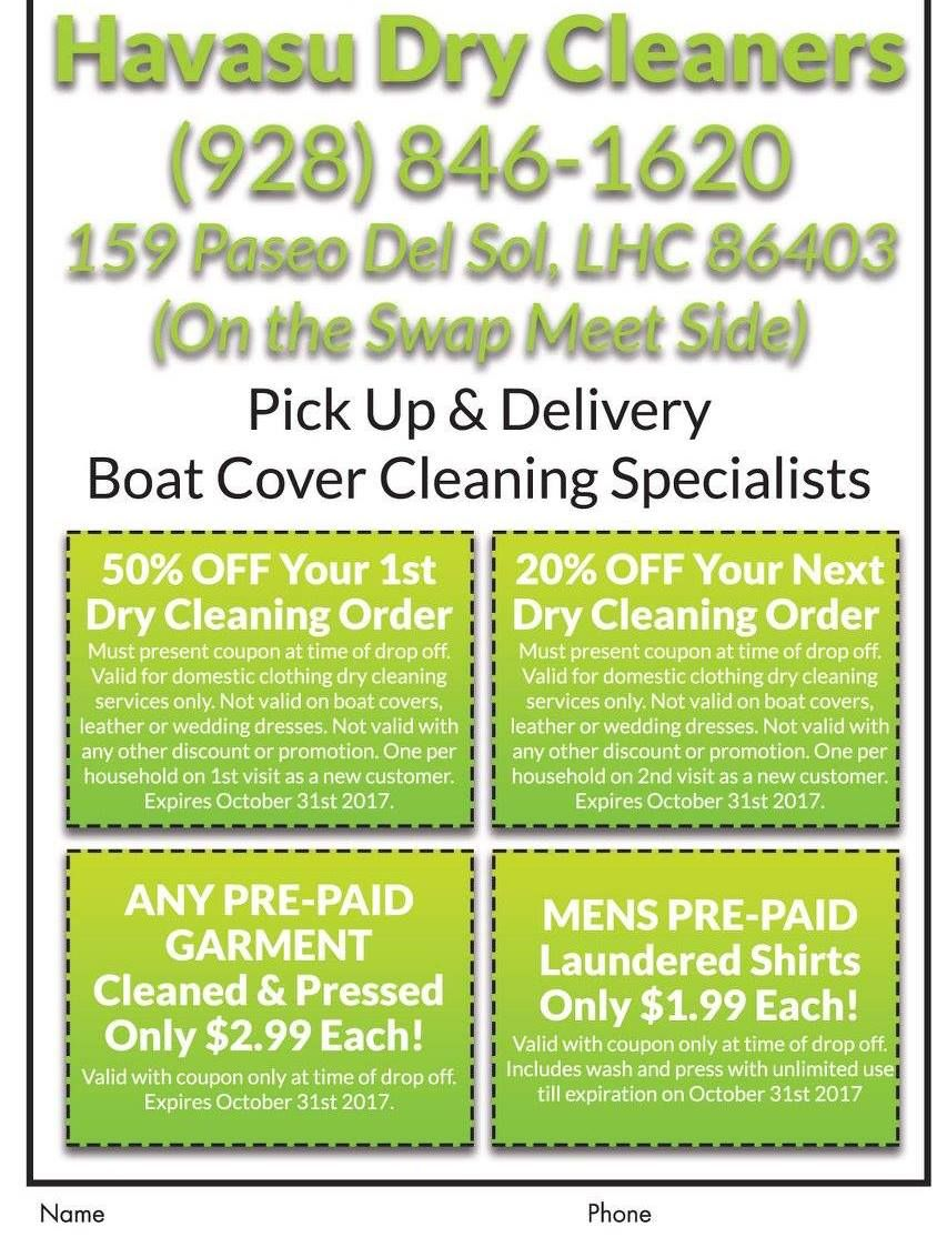 Don T Miss These Steaming Deals From Havasudrycleaners Get 20