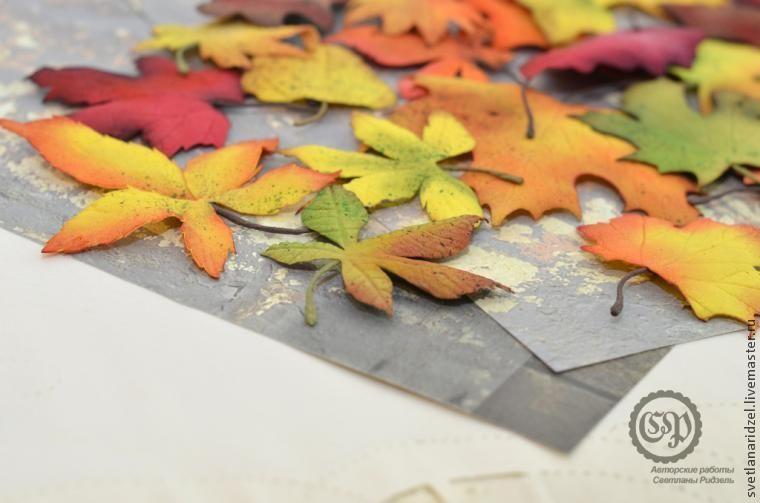 Создаем осенние листочки из фоамирана: часть 2 | Цветы ...