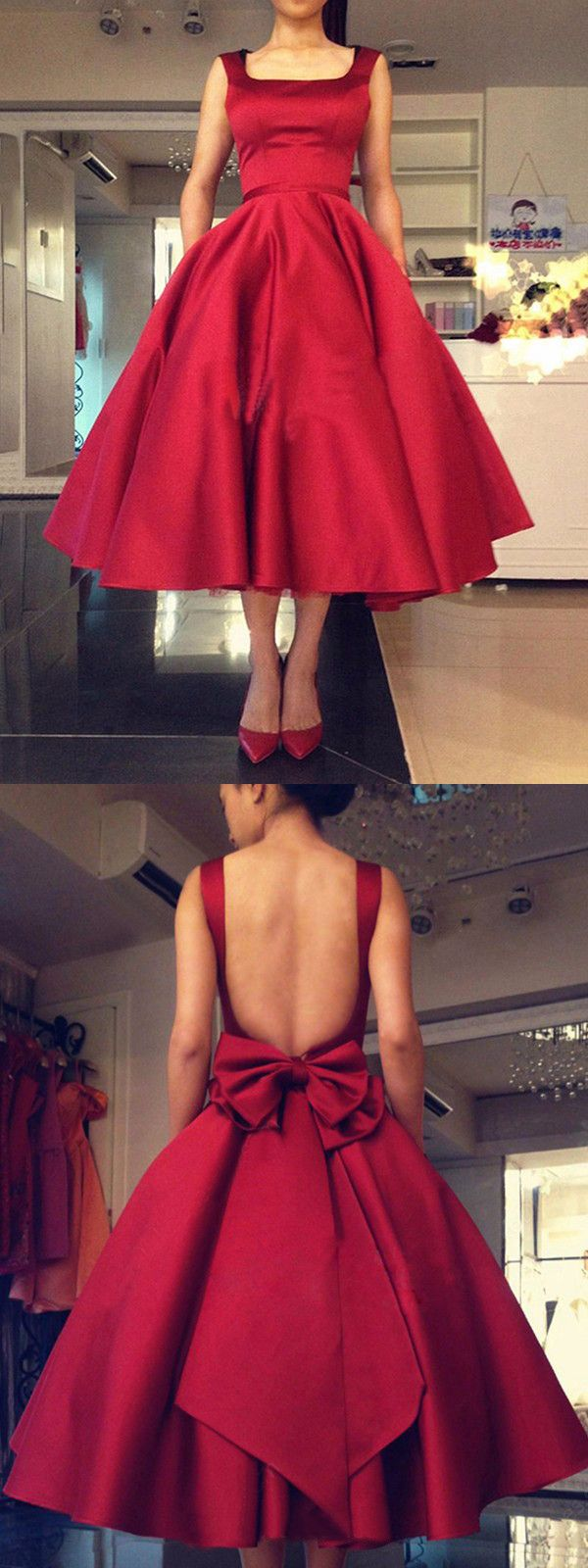 Chic a line prom dress cheap red long prom dress vb african