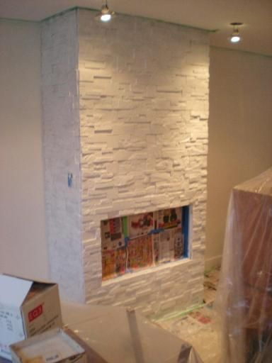 painting a stone fireplace Google Search Painted Fireplace