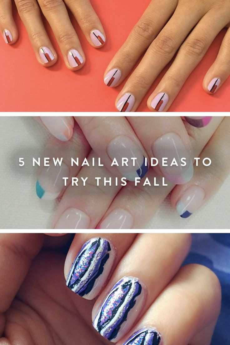 5 New Nail Art Ideas to Try This Fall | Nail trends, Nail nail and ...
