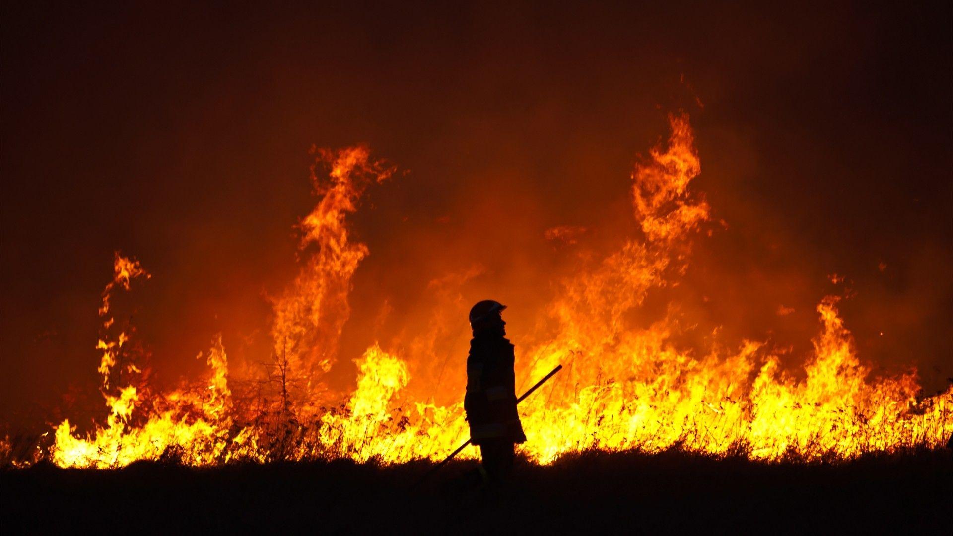 1920x1080 Desktop Background Fire Firefighter Flames Silhouette Fire Photography Beautiful Wallpaper Hd Fire Image