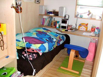 3畳 部屋 子供部屋 仕切り