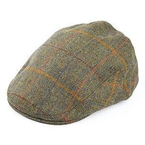 f234b249b Olney Hats English Tweed Flat Cap - Forest from Village Hats.   Hats ...