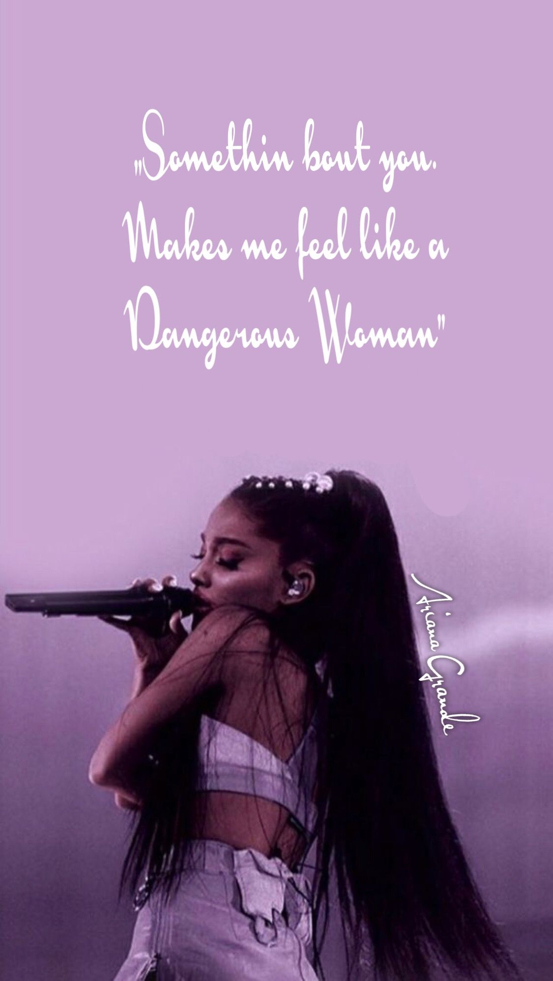 Ariana Grande Dangerous Woman Wallpaper (With images