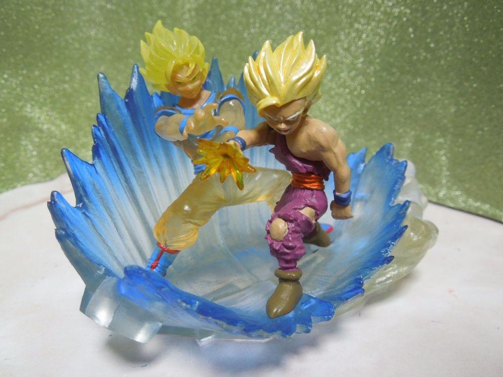 Goku HG Gashapon Figure Bandai Set of 6 JP New Dragon Ball Z 18 HG Kyukyoku