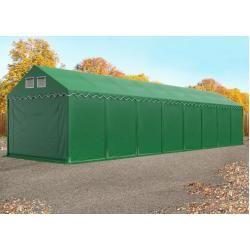 Lagerzelt 4x16 m - 2,6 m Seitenhöhe, Pvc 550 g/m², mit Bodenrahmen Unterstand, Lager Toolport #outdoorpatiodecorating