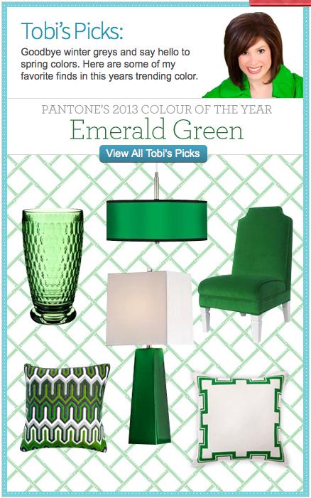 Emerald; de kleur van 2013