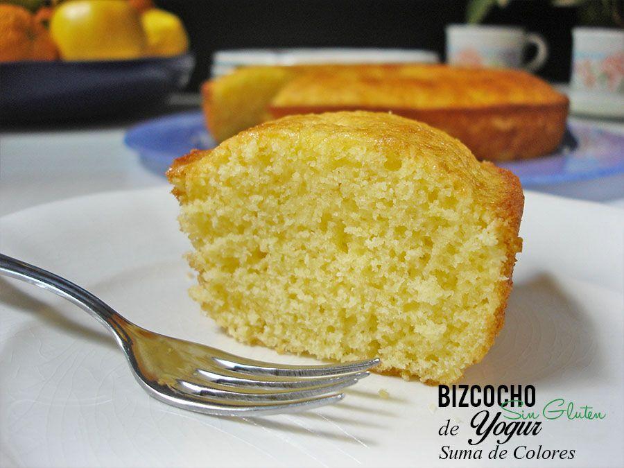 Bizcocho De Yogur Sin Gluten Con Imagenes Recetas De Comida