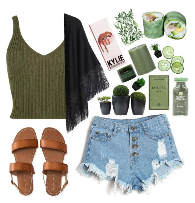 """""""//coachella // g r e e n //"""" by liamschoco ❤ liked on Polyvore featuring Aéropostale, Relaxfeel, Crate and Barrel and Aveda"""