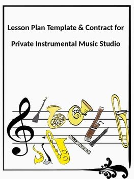 Free Printable Piano Lesson Contract Piano Lessons Music Lessons Learn Piano
