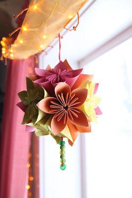 Rebecca diy diy kusudama japanese paper flowers part 2 paper rebecca diy diy kusudama japanese paper flowers part 2 mightylinksfo Gallery