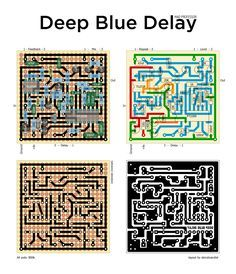 Perf and PCB Effects Layouts: Mad Professor Deep Blue Delay