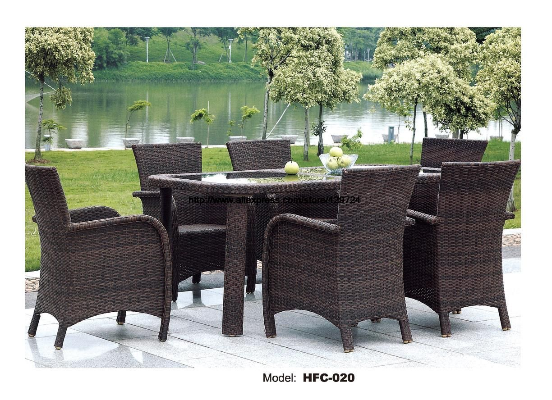 Luxe rotan tuin sofa stoel tafel combinatie moderne leisure