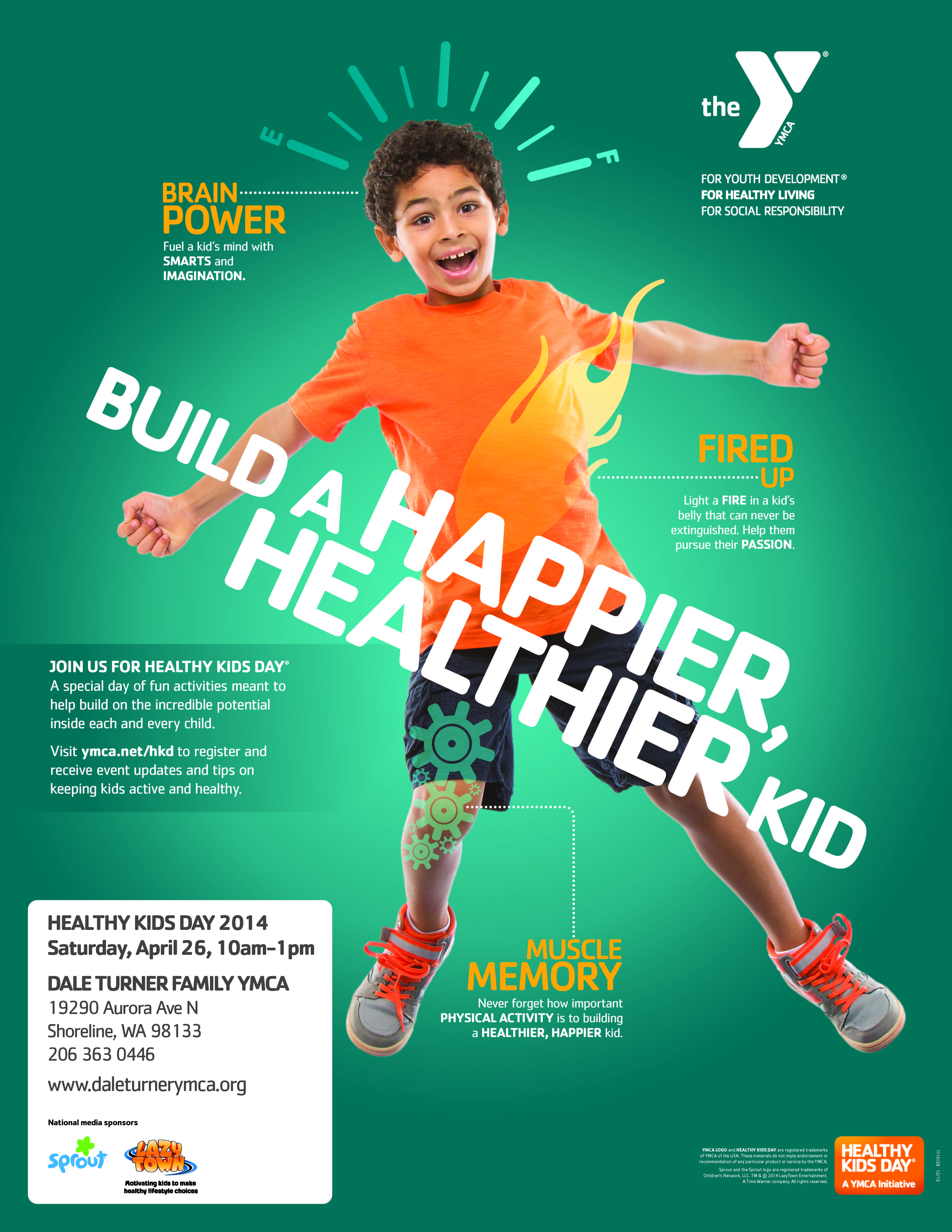 Mark Your Calendars Healthy Kids Day Is On April 26 From 10 00am 1 00pm At The Dale Turner Family Y Join Us For Ca Healthy Kids Programming For Kids Ymca