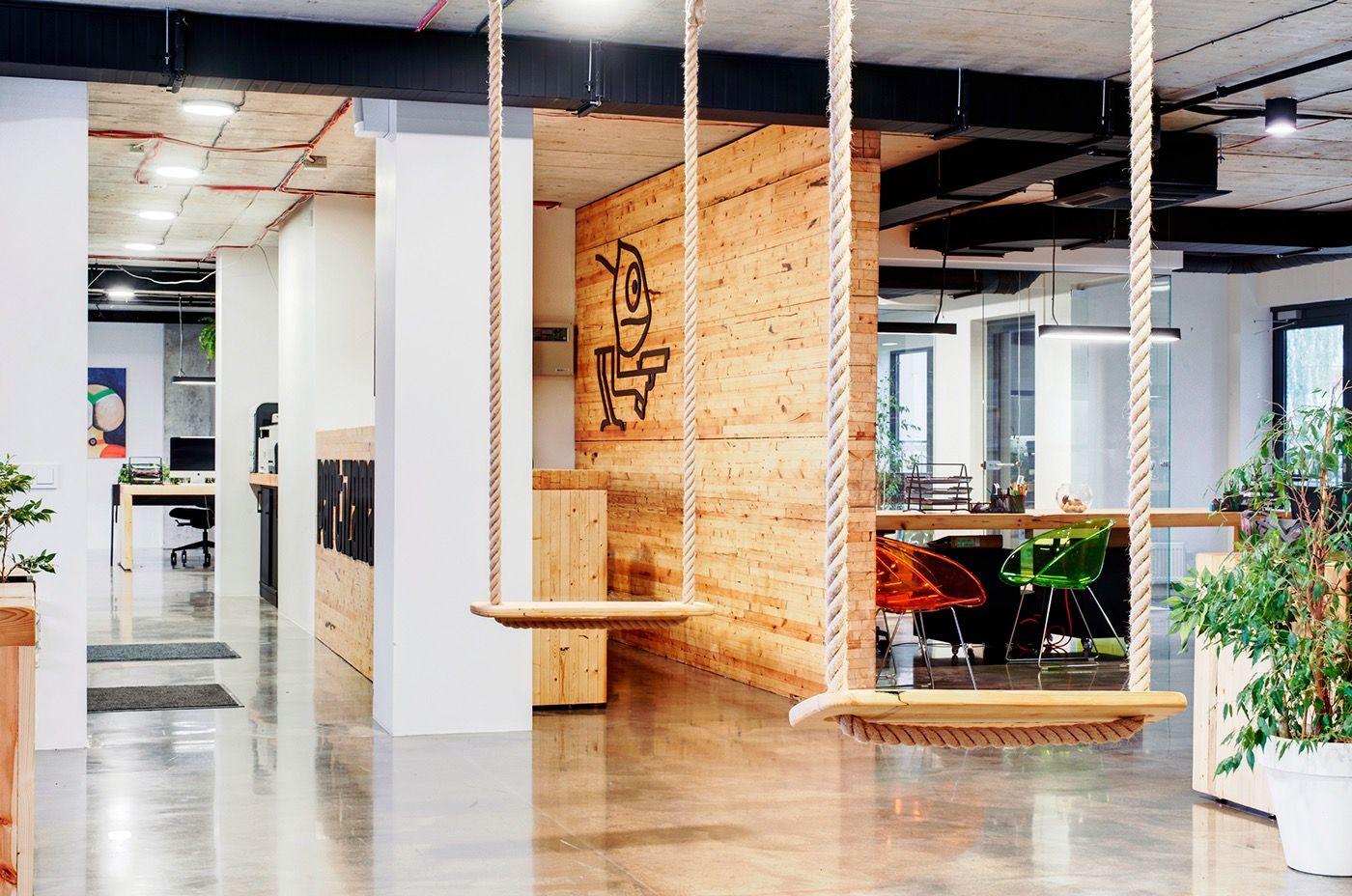 A Look Inside Partizanas' Super Cool Vilnius Office