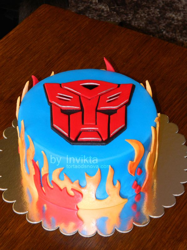 Transformers birthday cake Party Ideas Pinterest Transformer