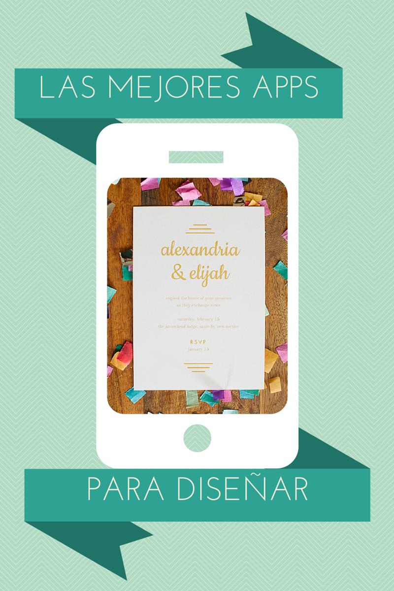La Novia Hipster Las Mejores Apps Para Diseñar Tus Invitaciones Y Gratis Diseño De Invitación Diseño De Invitación De Boda Crear Invitaciones Gratis