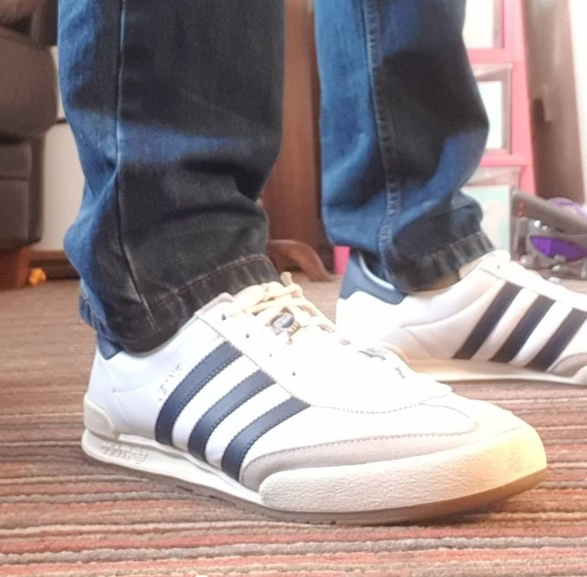 Adidas samba sneakers, Football casuals