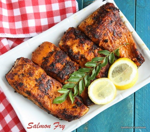 Salmon Fish Fry An Easy And Tasty With Indian Spices You Can