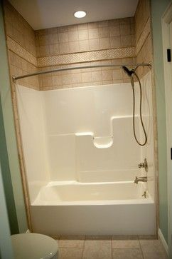 Fibergl Tub Shower Design Ideas Pictures Remodel And Decor