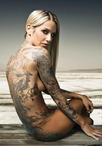 Naked and inked girls