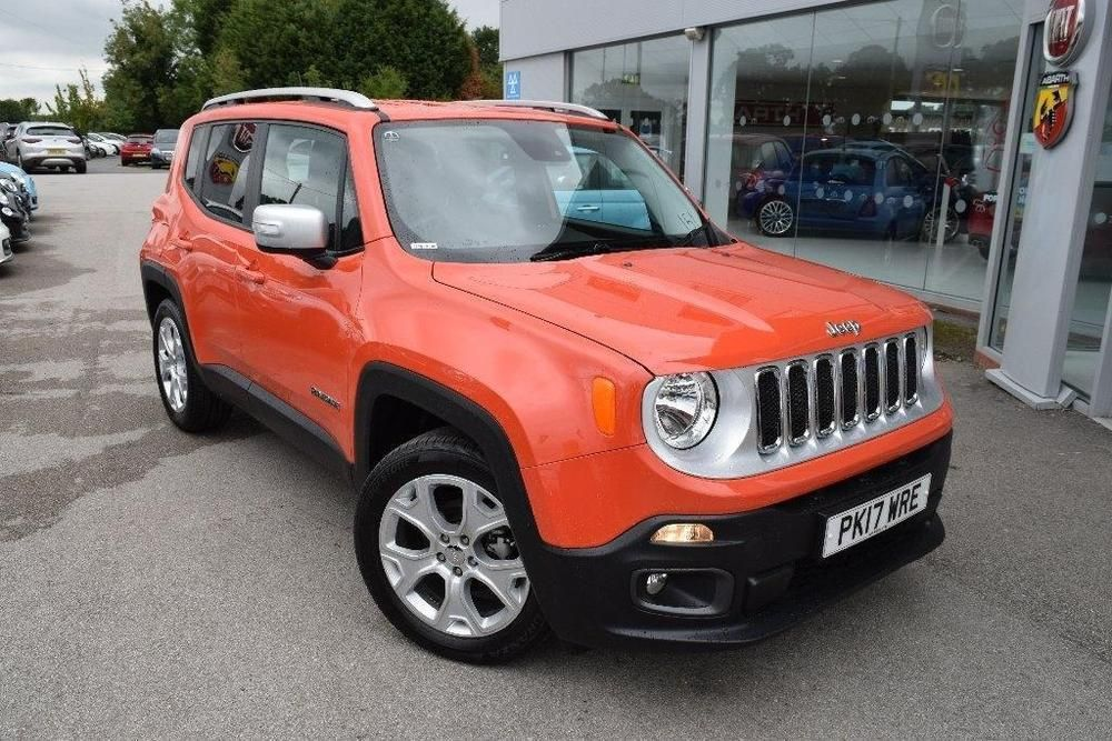 eBay 2017 Jeep Renegade 1.4 MultiAir II Limited (s/s) 5dr
