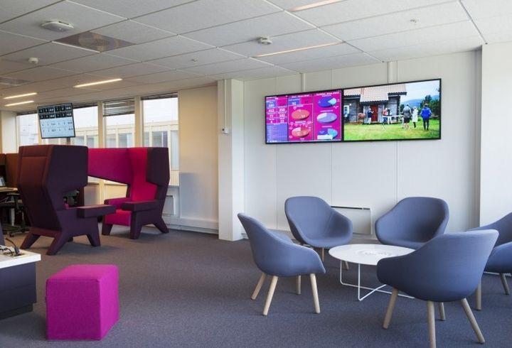 Eidsiva Bredbånd AS Headquarters By Asplan Viak, Lillehammer U2013 Norway »  Retail Design Blog